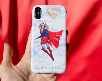 Supergirl Case for iPhone, Samsung, other by Takila