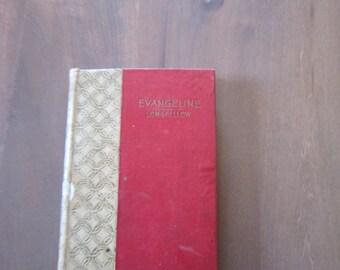Antique Book Longfellows Evangeline Minnehaha Edition 1895