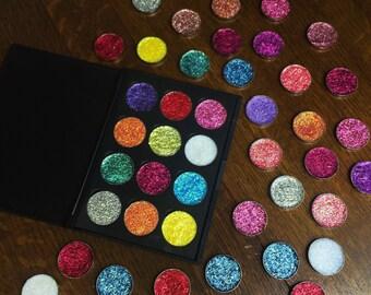 Custom Glitter Palettes