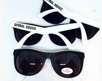 Spiral Squad Sunglasses Jersey Shore Sunglasses Snooki Sunglasses