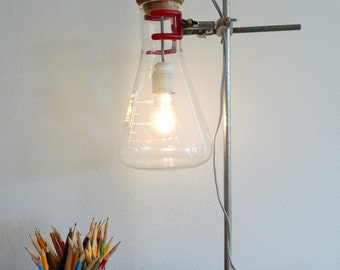 Chemistry lab glassware lamp Industrial