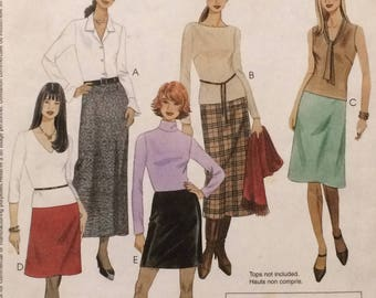 Skirt Pattern / McCalls Quick and Easy Skirt  / A Line Skirt Pattern / Career Skirt Pattern / Easy Skirt Pattern / McCalls 3341