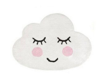 Cutest Children's Rugs in Three Shapes : Cloud, Cat and Panda!