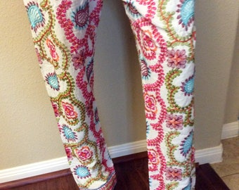 Pakistani embroidered phulkari pants