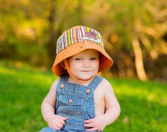 Boy Sun Hat- Baby Boy Sun Hat - Baby Floppy Hat - Sun Hat - Baby - Bucket Hat - Newborn Sun Hat - Infant Sun Hat - Newborn - Baby Boy - Hat