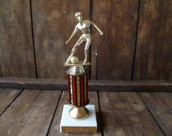 Vintage Girl's Soccer Trophy 1992