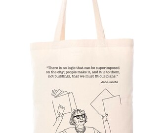 JANE JACOBS TOTE  |  two dollars from every purchase goes to Jane's Walk