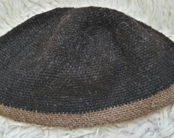 RARE BREED Hebridean and Manx Loaghtan Nalbinded hat