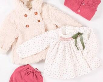 Little jacket for baby unisex, Coat baby , Baby unisex Jacket, Little Girl and boy jacket, Winter Jacket, Colour beige,
