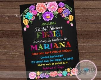 Fiesta Bridal Shower Invitation Fiesta Couples Shower
