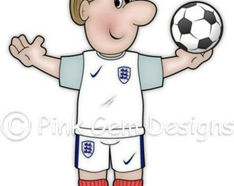 Digi Stamp Football Dave. Male  Birthdays. Fathers Day