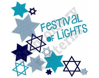 Festival Of Lights - Machine Embroidery Design
