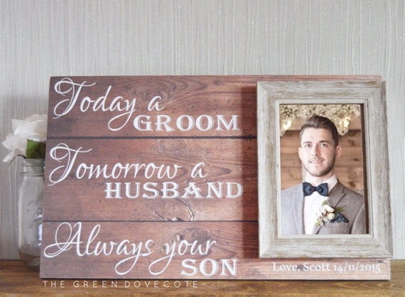 Parents Gift Wedding: Gift For Grooms Parents Thank You Wedding Gift Parents Of