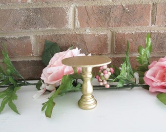 Metallic Gold Mini Cupcake Stand, Prop, Cake Smash, 1st Birthday, Baby Shower, Favors, Cake Pop Stand, Bridal Shower, Wedding, Dessert