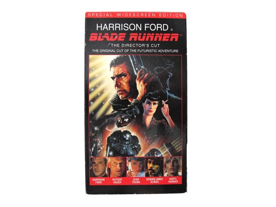 Blade Runner Special Widescreen Edition VHS