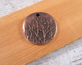 Rocky Mountain Charm in Antique Copper Plating from Nunn Design