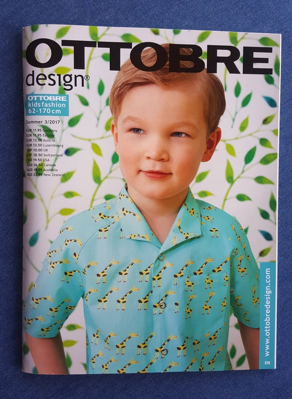 Ottobre Kids Magazine Summer 2017 - BACK ISSUE - Sewing Patterns for ...