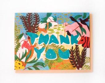 Jungle Thank You Card