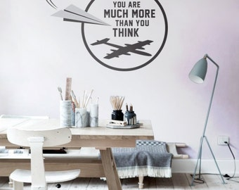 Wall Decal for your daily Motivation | Vinyl Wall Decal | Creative Wall Decor | Wall Art | 008