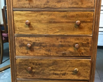 SOLD, Do NOT BUY!!!! Vintage Highboy Chest of Drawers