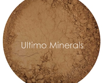 Ultimo Minerals EARTHY DARK 1Oz. Refill 30 grams Full-Coverage Mineral Foundation - Soft Pearlescent Finish - FREE Shipping!