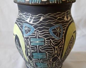 Hand Made Ceramic Jar #2
