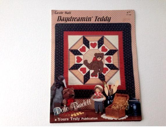 Teddy Bear Quilt, Teddy Bear Pattern, Dale Burdett Pattern, Bear