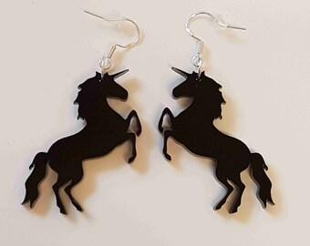 Mystical Unicorn Earrings - Acrylic
