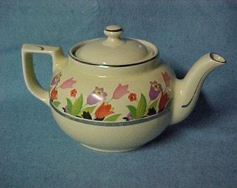 Hall China Crocus Tea Pot Boston