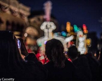 Disney Electric Light Parade Print