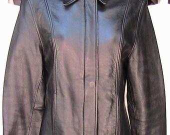 Small Black Leather Jacket