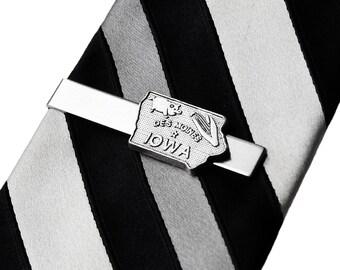 Iowa Tie Clip