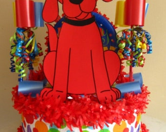 Clifford Handmade Birthday Pinata