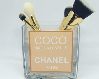 Coco mademoiselle Chanel make up brush holder