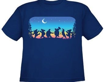 Grateful Dead Kids T-Shirt. Moondance  100% cotton. Toddler T-shirt, Youth T-shirt, Dancing Bears, Terrapin Turtles