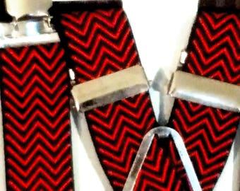 """Herringbone Suspenders - 1"""""""