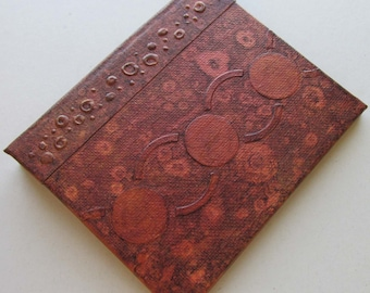 Refillable Journal Copper Distress 5x4 Handmade Original