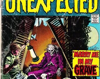 Vintage Comic Book, Unexpected, Vol 18 No 146, April 1973, DC Comics