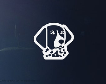 German Shorthaired Pointer Dog Vinyl Decal | Car Sticker, Decoration | 25 & Co
