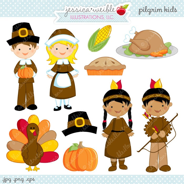 Kids Cute Digital Clipart Commercial Use OK