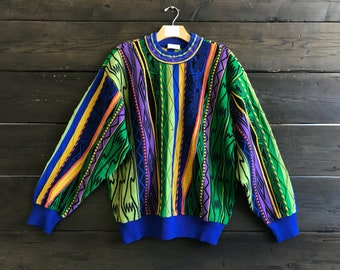 Vintage 90s Multi-Color Pull Over Sweater