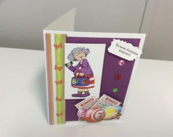 Card has Odette