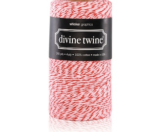 Peppermint | Valentine's Day |Baker's Twine - 240 yard spool