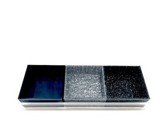Triple Cup Acrylic Lucite Tray