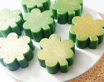 St Patricks Day. Shamrock Soap. St Patrick's Day. St Paddy's Day. Clover Soap. Irish Soap. Luck of the Irish. Irish Wedding. St Patty's Day