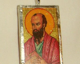 St Paul the Apostle Pendant inv1690