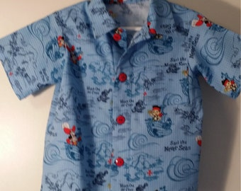 Size 4T boys button front shirt