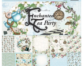 Couture Creations 6x6 Paper Collection - Enchanted Tea Party
