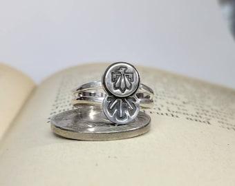 Thunderbird Ring (Size 5.75), Thunderbird Ring, Thunderbird,Southwest Ring, Southwest Styled Ring, Southwest Style