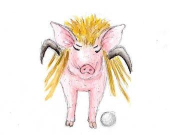100 Pigs - Labyrinth Pig